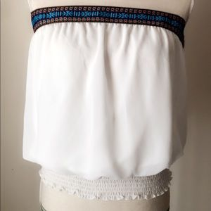Tops - Excellent Island Fully Lined Crop Top